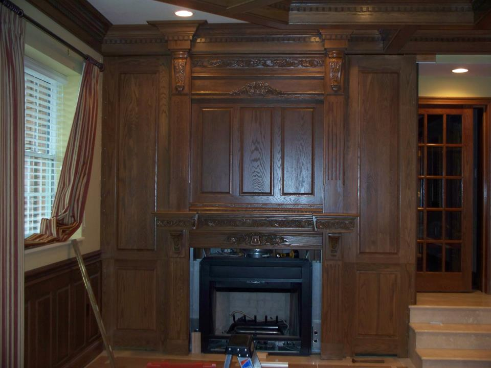 Our High Quality Custom Mantles Are Available In A Number Of Styles Wood Types